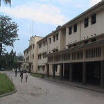 Boboto High School main entrance(Kinshasa)