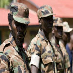CNDP soldiers in Congo