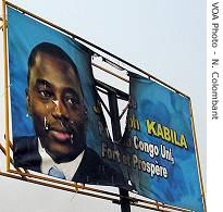 Kabila postersh have been burned down
