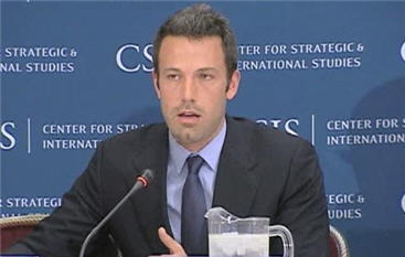 Actor Ben Affleck Advocates More US Involvement in Congo