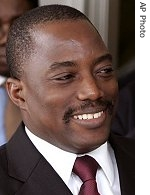Joseph Kabila (file photo)