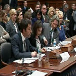 Actor Ben Affleck testifies about violence in eastern Congo at U.S. Congress hearing led by Rep. Chris Smith