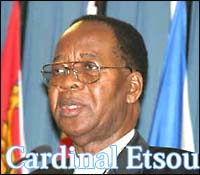 Cardinal Etsou - Archbishop of Kinshasa