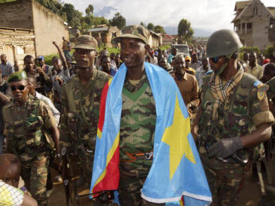 Colonel Mamadou Ndala and the FARDC have been welcomed by the population after liberating towns