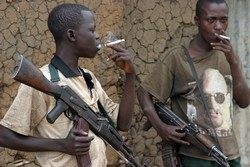 Child soldiers - Congo