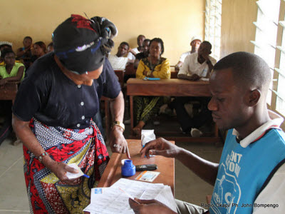 Voting takes place in Kinshasa on 11.28.2011