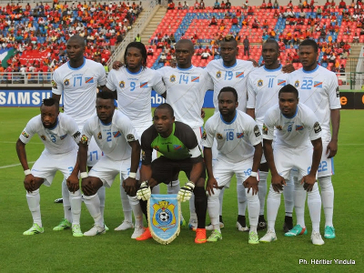 DR Congo Leopards during the Africa Cup of Nations in Equatorial Guinea