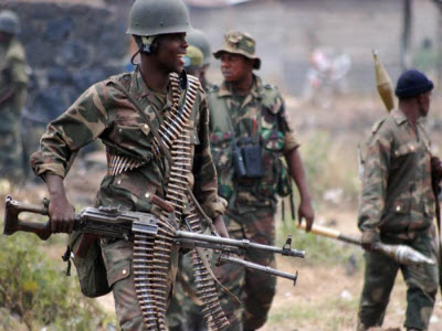 DR Congo's army soldiers on the frontlines