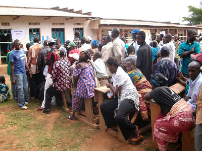 Election day in Bunia, DR Congo (DRC), 28 November 2011. Photo: MONUSCO