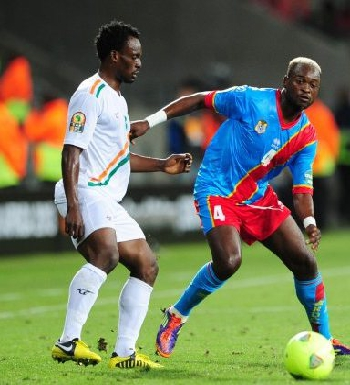 DR Congo's Leopards against Niger's Mena at the 2013 Africa Cup of Nations