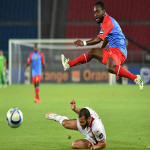 DR Congo play against Tunisia at the Africa Cup of Nations on 1.26.2015