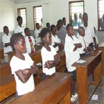 Students in DR Congo