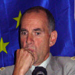 Eurofor commender in Kinshasa