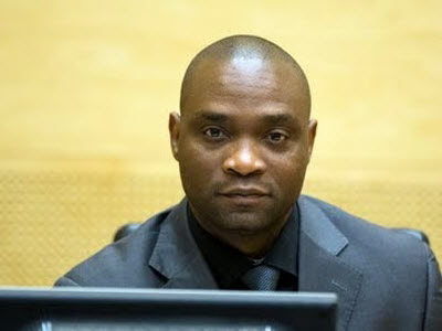 Germain Katanga at the hearing held on 23 May 2014 at the seat of the International Criminal Court in The Hague, Netherlands © ICC-CPI