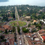 Goma, capital city of North Kivu province in eastern Congo