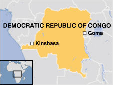 Dozens of people are feared dead after an airliner carrying at least 60 crashed after taking off from Goma in eastern Democratic Republic of Congo. At least six survivors were pulled from the wreckage as rescuers fought a fire close to the end of the runway.