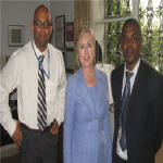 Hillary Clinton in Kinshasa