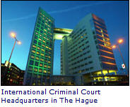 ICC headquaters at the hague