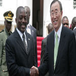 Joseph Kabila and Ban Ki-moon
