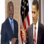 Joseph Kabila and Barack Obama