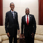 Rwanda's President Paul Kagame and DR Congo's President Joseph Kabila met in Addis-Ababa on July 15, 2012