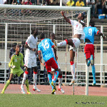 DR Congo's Leopards faced Equatorial Guinea's Nzalang in Kinshasa on 9.9.2012