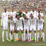 DR Congo's Leopards football team