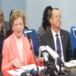 Mary Robinson and Martin Kobler