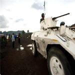 MONUC peacekeepers in Goma