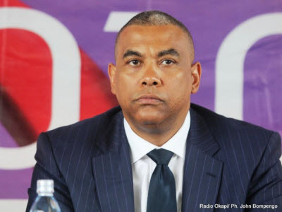 DR Congo's Minister of Planning Olivier Kamitatu