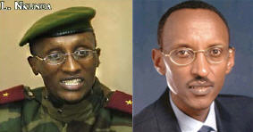 Laurent Nkunda and Paul Kagame