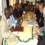 Joseph Kabila meets with ambassadors in Goma on 10.15.2007