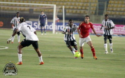 Al Ahly Snatch 2-1 Win Over TP Mazembe in Cairo