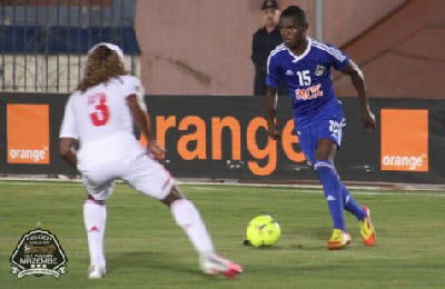 TP Mazembe play against Zamalek in CAF Champions League