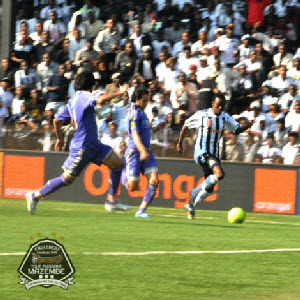 TP Mazembe's plays against Zamalek in Lubumbashi