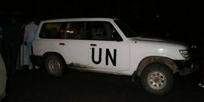 United Nations mission in DR Congo (MONUSCO) vehicle caught in smuggling of tin ore