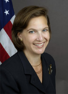 U.S. Department of State spokesperson Victoria Nuland