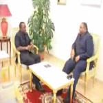 Pr�sidence de la R�publique Joseph Kabila and Jean-Pierre Bemba meet on November 7,2006