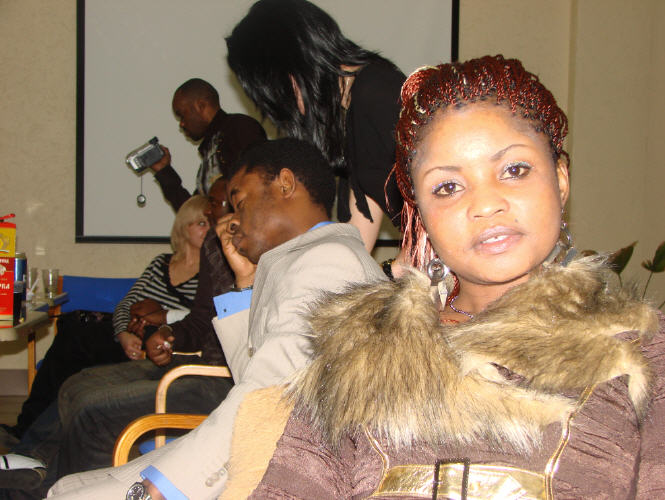 New Year 2008, congolese community in russia st petersburg