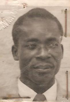 This is a photo of my father. Willie Mamba from Lubumbashi Mbuji-Mayi Oriental Province.