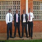 4 of them: pepitho,patrick,felix and erick on mission