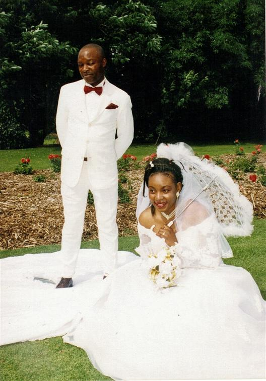 Wedding day/johannesburg 2000