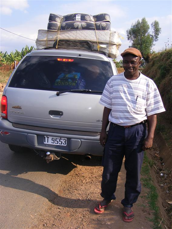 Mr Ashile en route 2009.
