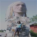 Le monument historique Yellow Head (la t�te jaune), Mama Muilu Patricia KUMBAKISAKA (Photo ...