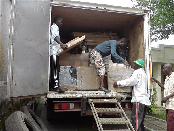 DISTRIBUTION DU FRET A KINSHASA